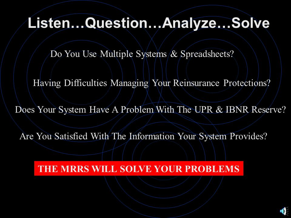 Listen…Question…Analyze…Solve Point and Click Access to PC Packages The iSeries Becomes an Additional Server on Your Network