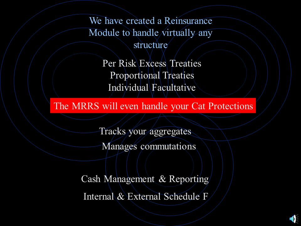 SOLUTION or Your System or Spreadsheets MRRS Interface MRRS DATABASE I.B.N.R.