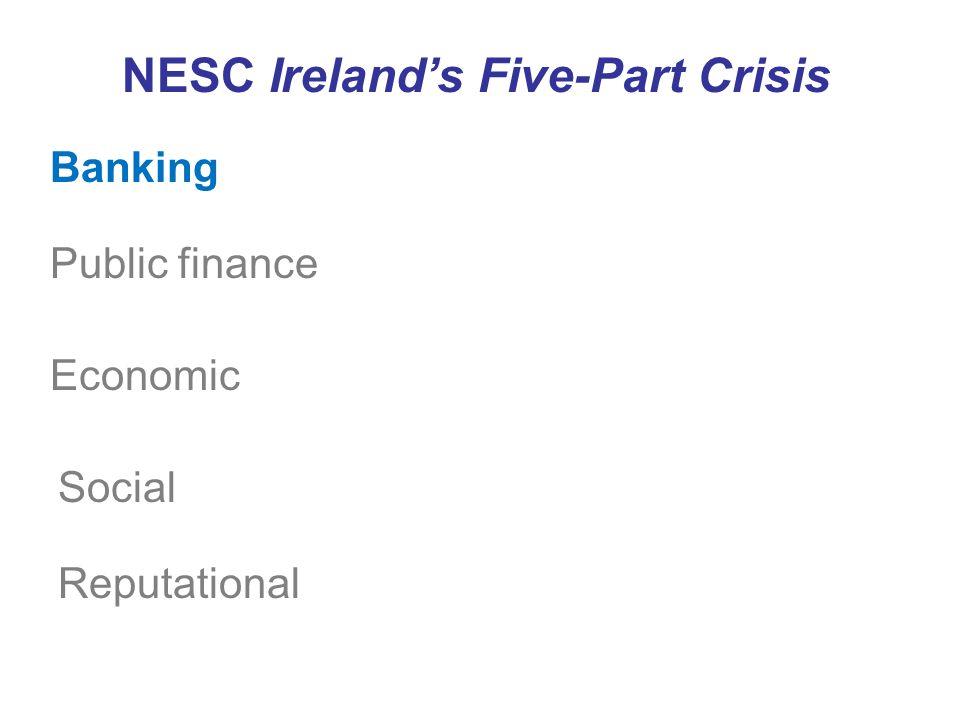 Banking Public finance Economic NESC Ireland's Five-Part Crisis Social Reputational