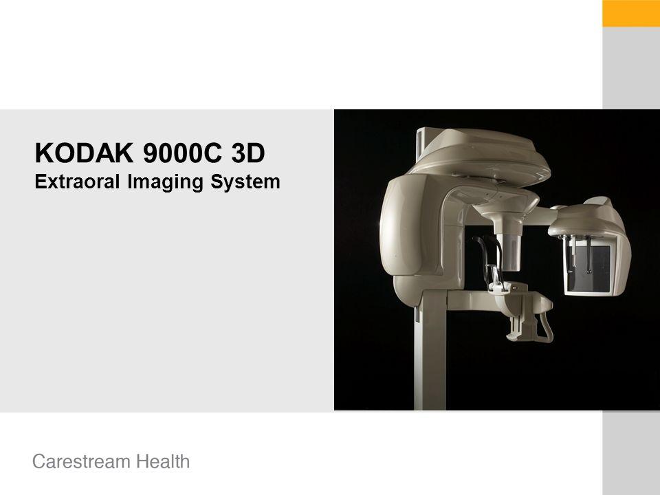 KODAK 9000C 3D Extraoral Imaging System