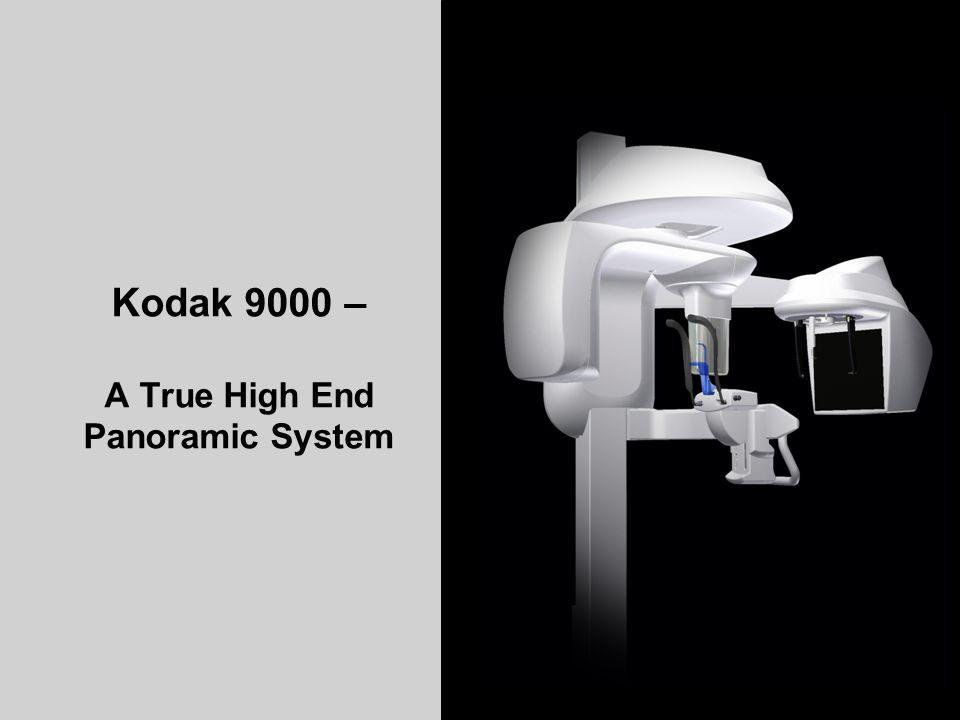 TROPHY TRAINING CENTER K90003D-C Aug.2008 15 Kodak 9000 – A True High End Panoramic System