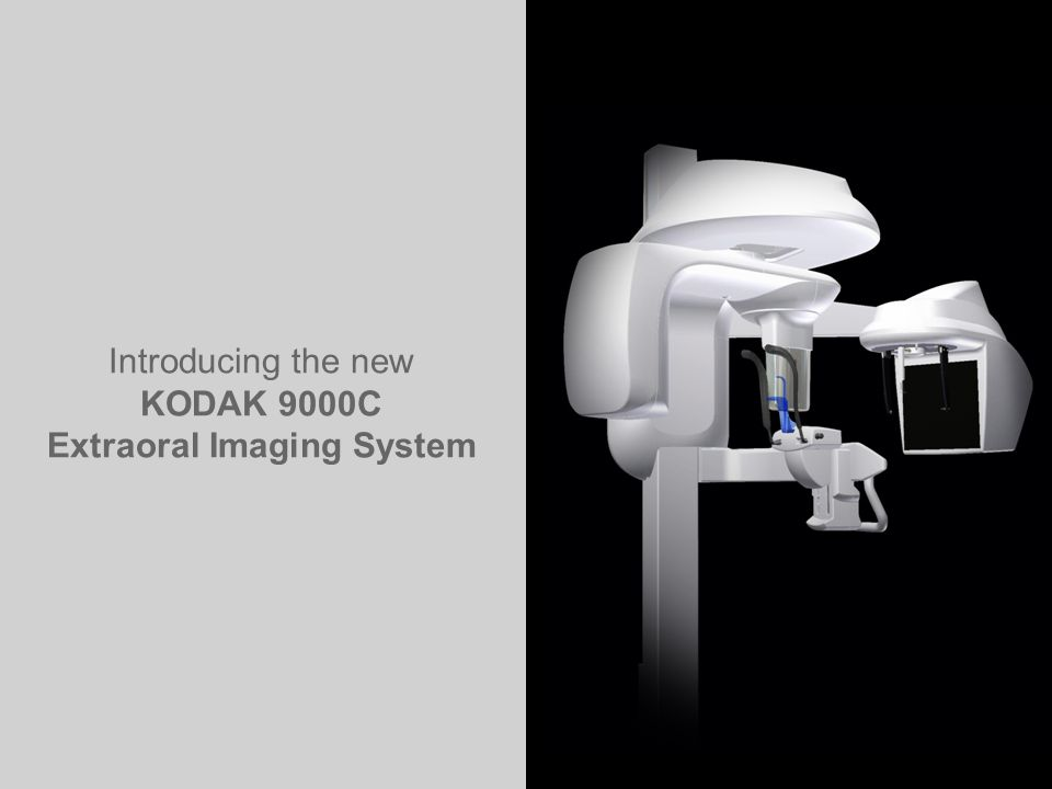 TROPHY TRAINING CENTER K90003D-C Aug.2008 2 Introducing the new KODAK 9000C Extraoral Imaging System