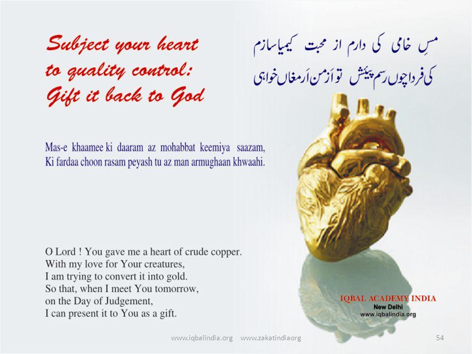 54www.iqbalindia.org www.zakatindiaorg