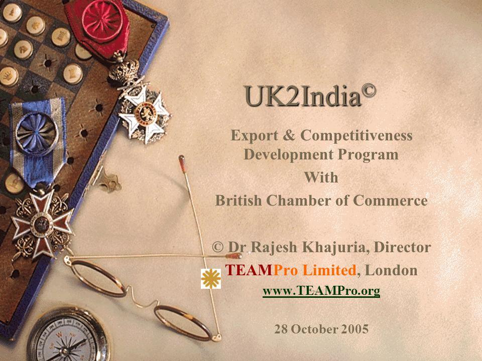TEAMPro Limited London22 TEAM Advisors  Prof Prem Sharda, Director – UK2India in India – Former Vice Chancellor (March 2005), VN South Gujarat University, Surat, Gujarat State, India.