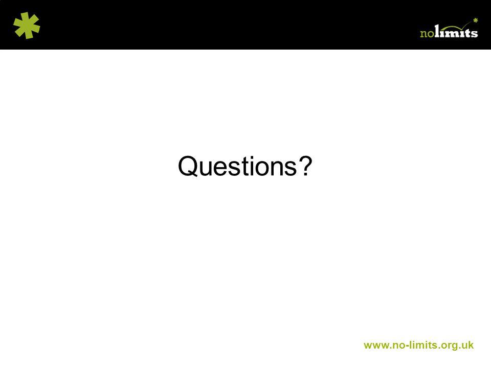 www.no-limits.org.uk Questions