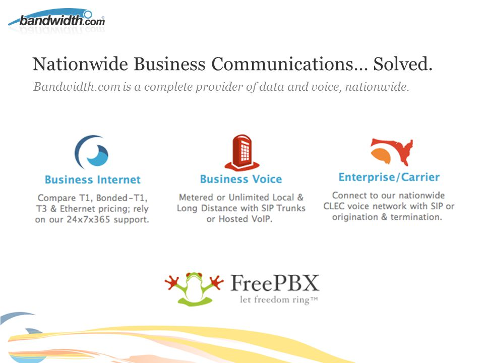 Nationwide Business Communications… Solved.