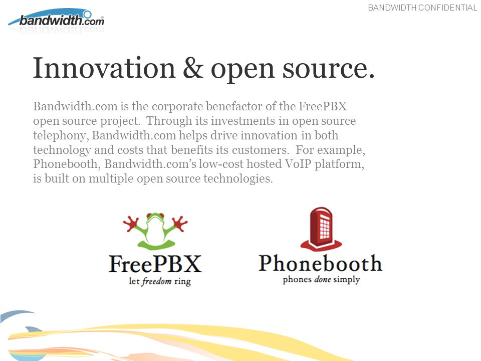Innovation & open source.