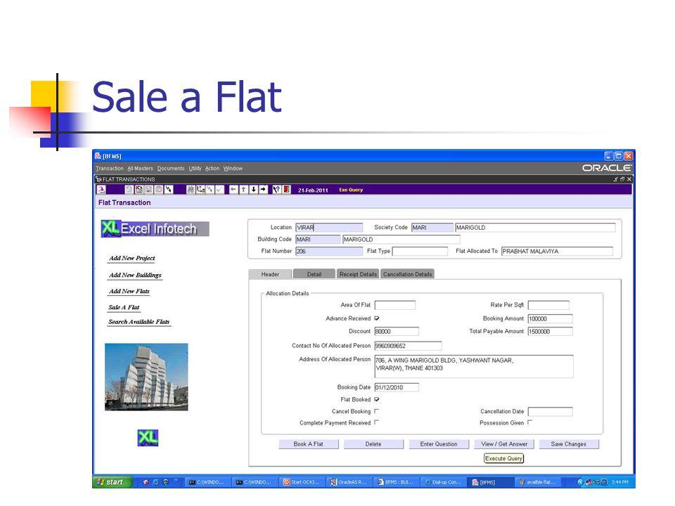 Sale a Flat
