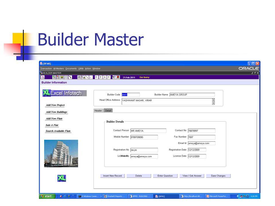Builder Master