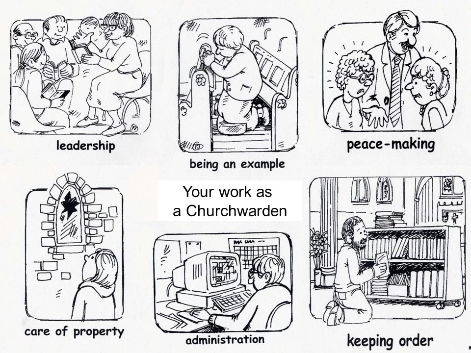 The Office of Churchwarden The churchwardens when admitted are officers of the Ordinary [i.e.