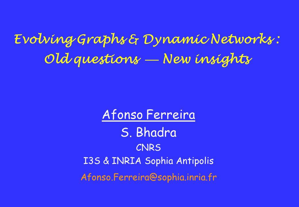 Technology aware - Problem driven behavior Develop combinatorial models for networks –graphs, hypergraphs, etc.