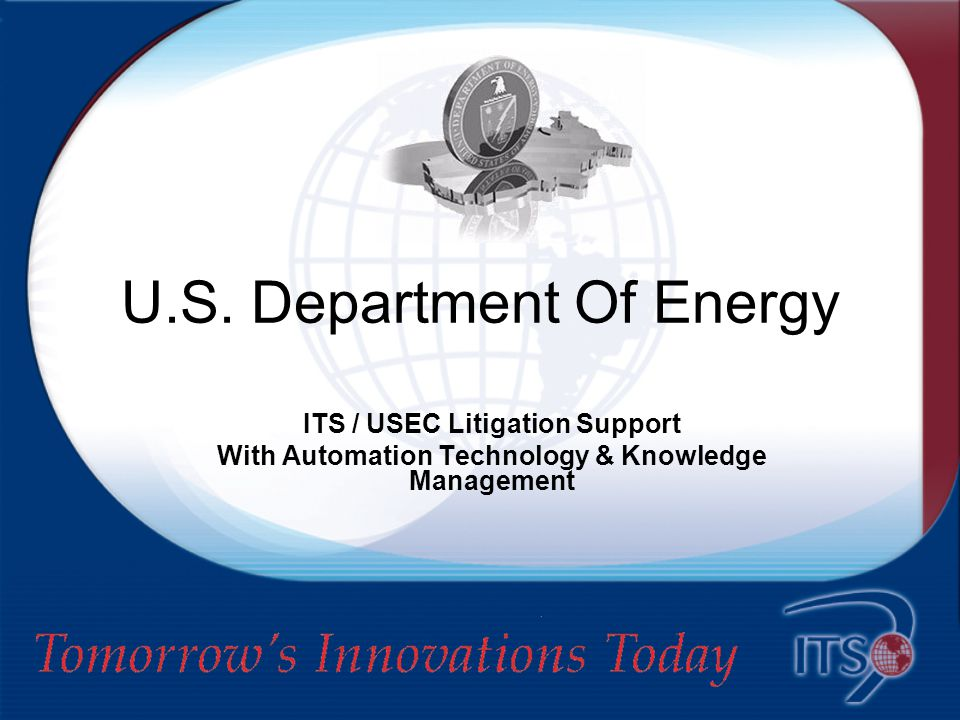Innovative Technical Solutions, LLC Tomorrow's Innovations Today