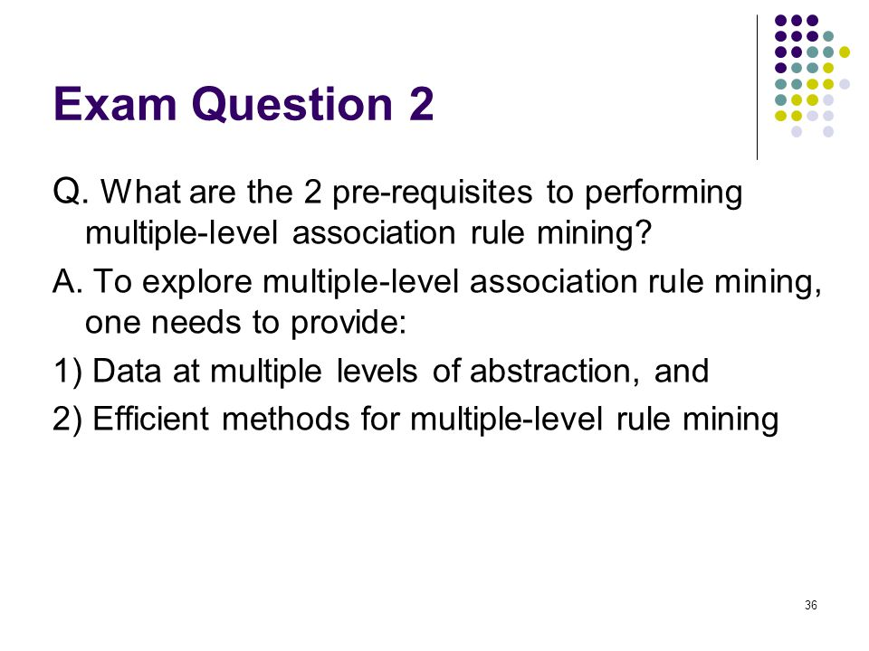 Exam Question 2 Q.
