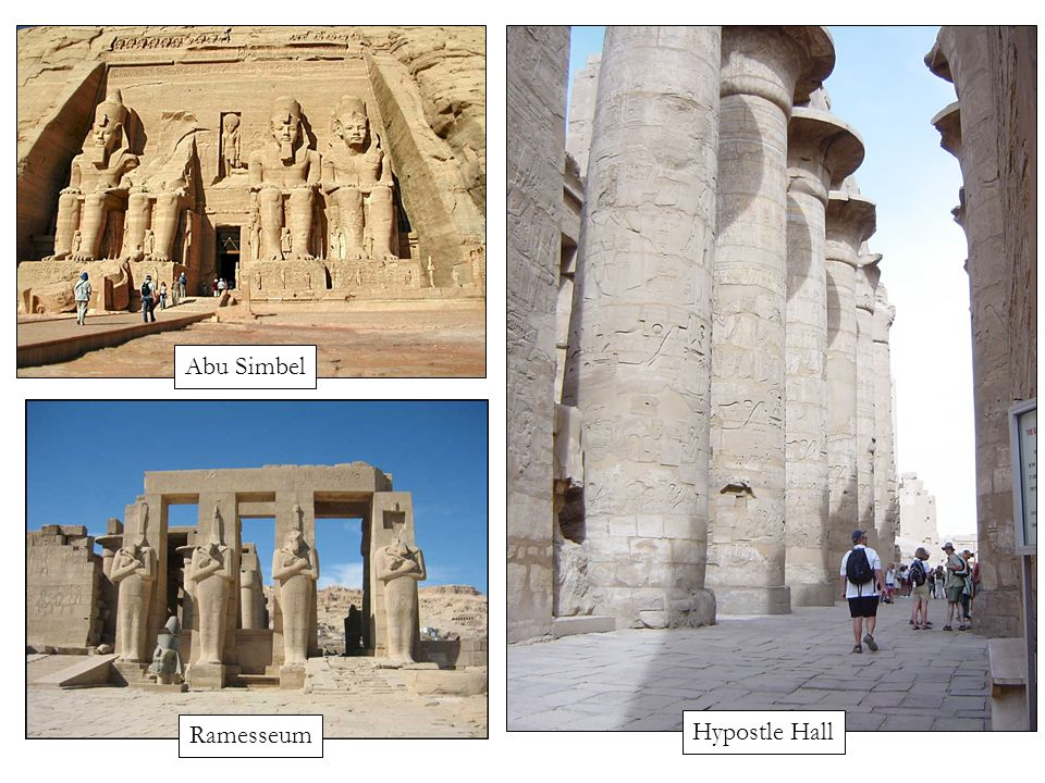 Hypostle Hall Ramesseum Abu Simbel