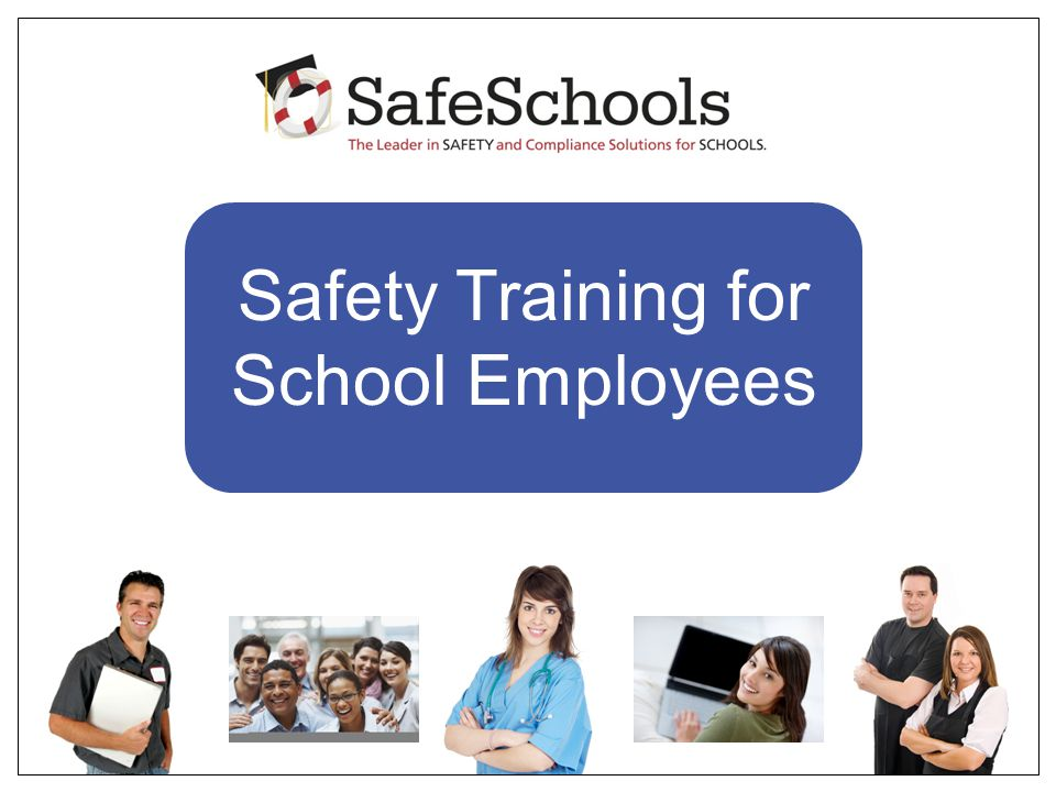 Safety Training for School Employees