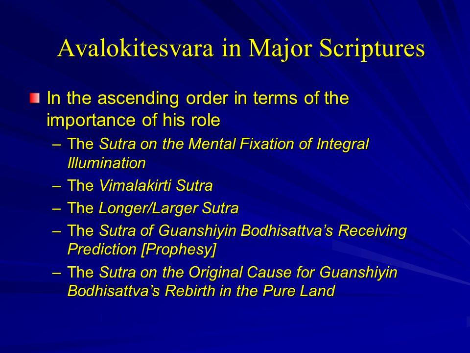 Guanyin (Kuan-yin) Assumes the Role of a Savior  The Lotus Sutra (chap.