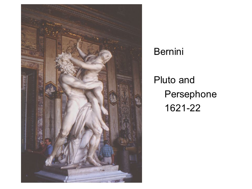 Bernini Pluto and Persephone 1621-22