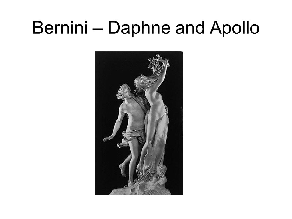 Bernini – Daphne and Apollo