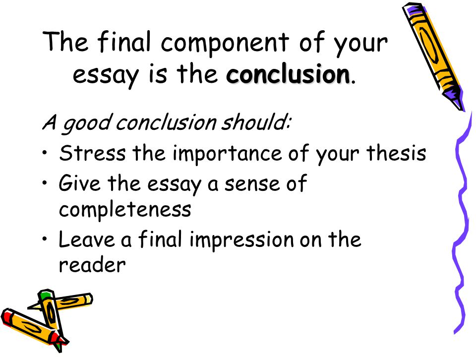 what to include in the conclusion of an expository essay
