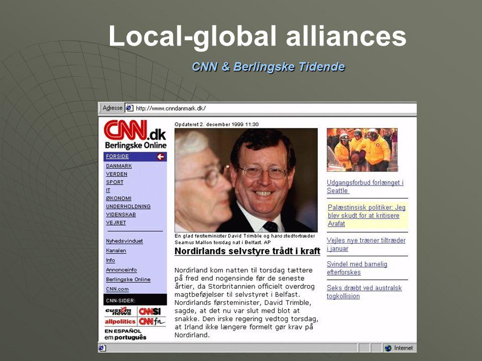 Local-global alliances CNN & Berlingske Tidende