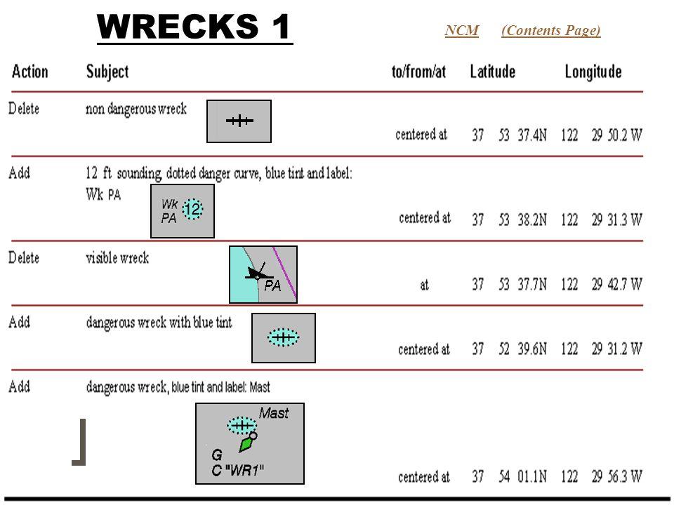 WRECKS 1 (Contents Page)NCM