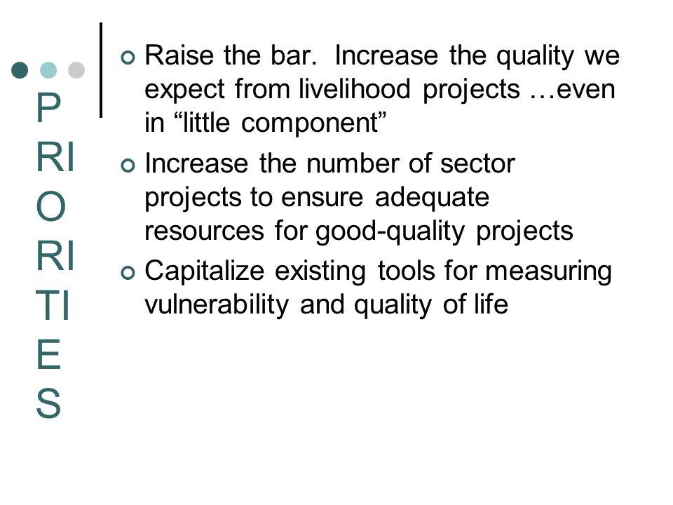 Livelihoods Livelihoods and social protection.