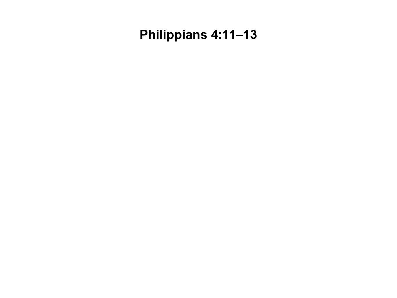 Philippians 4:11–13
