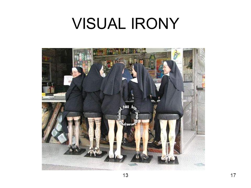 1317 VISUAL IRONY