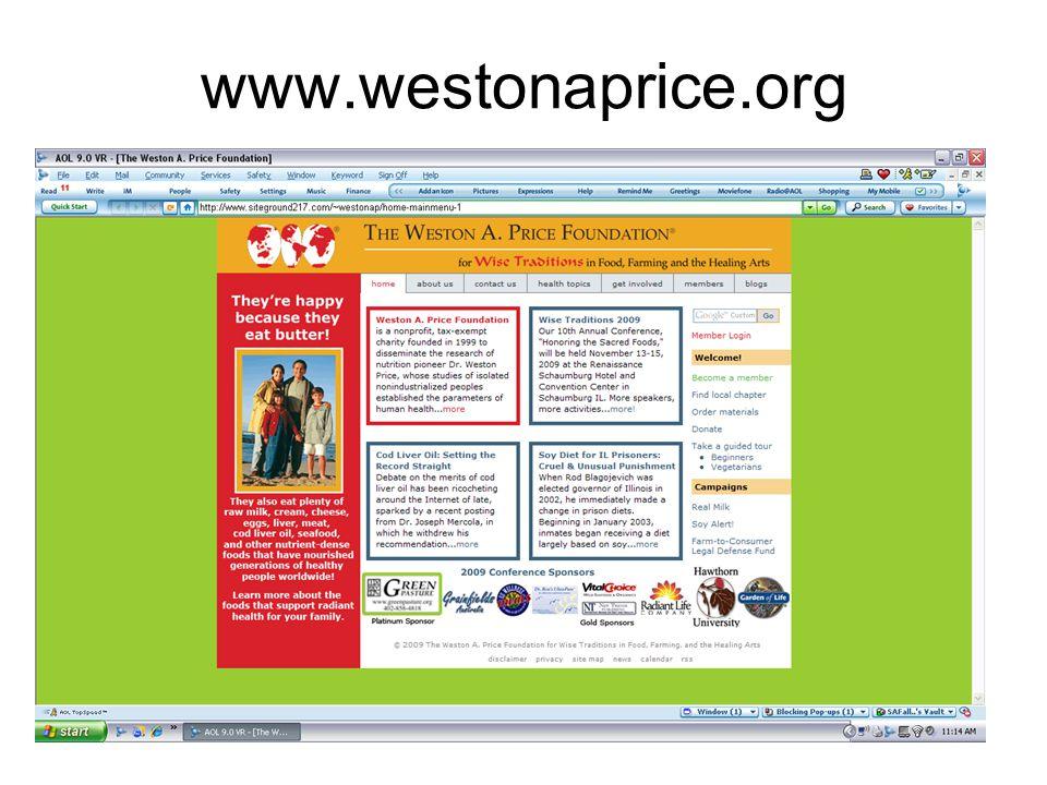 www.westonaprice.org 49