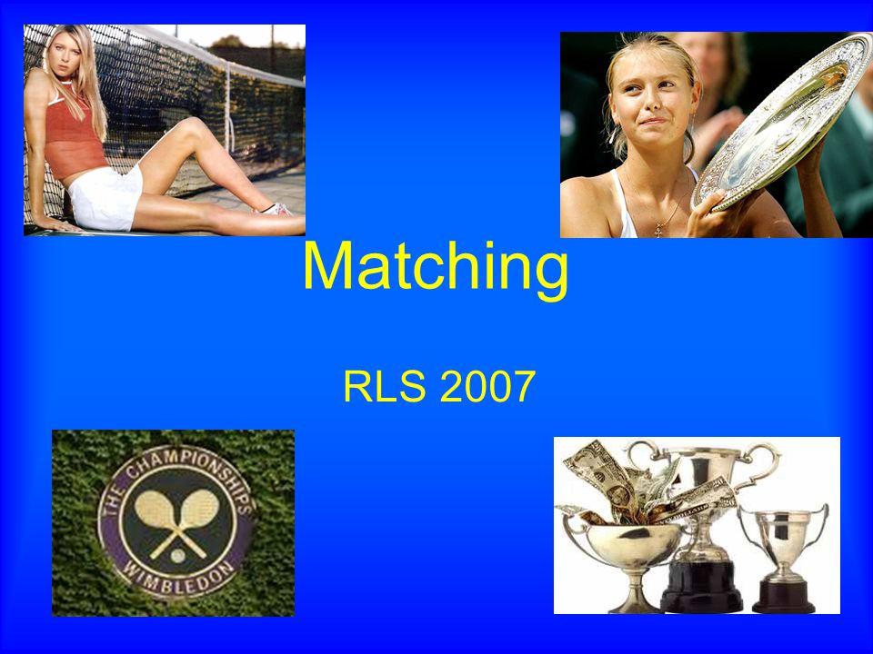 Matching RLS 2007