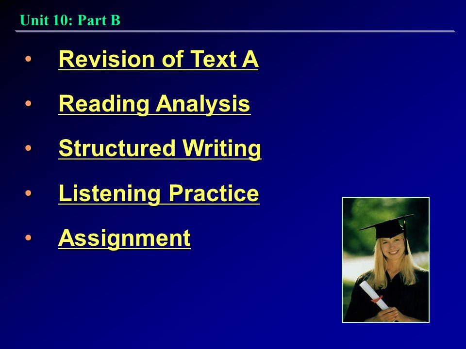 21st Century College English: Book 4 Unit 10: Part B