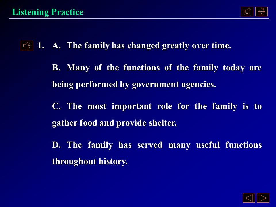 Passage 1 Questions 《听说教程 IV 》 Part 4.3, p. 119