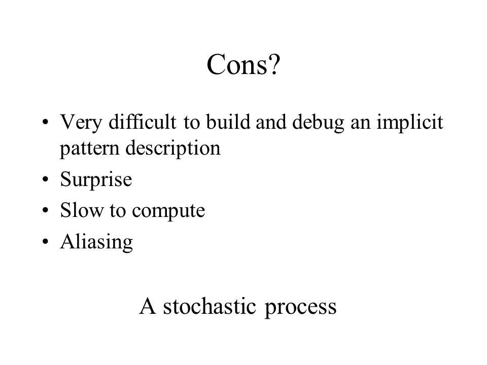 Cons.