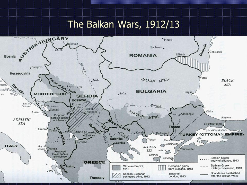 The Balkan Wars, 1912/13
