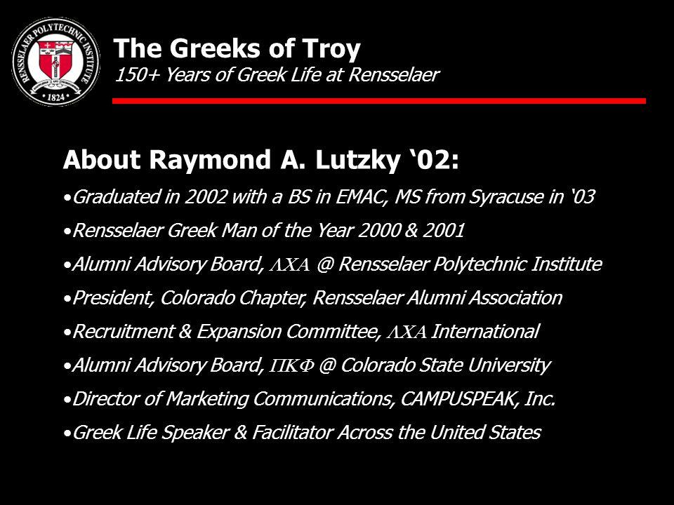 About Raymond A.