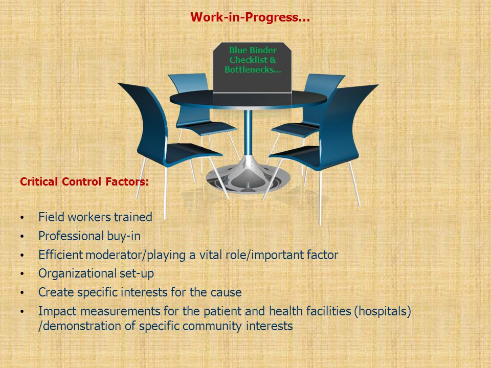 Work-in-Progress… Benefits: First and foremost this referral system is a network of people who trust each other and want to collaborate, capacity building and social engineering are thus very important.