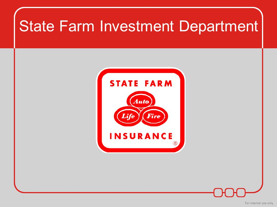 State Farm Investment Department