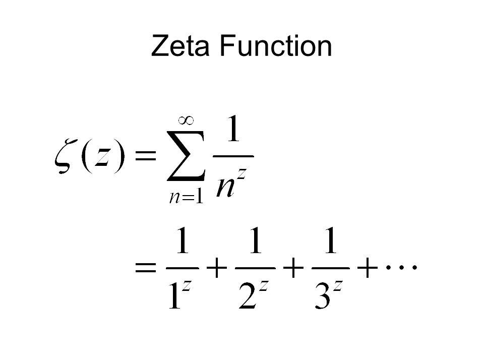 Zeta Function