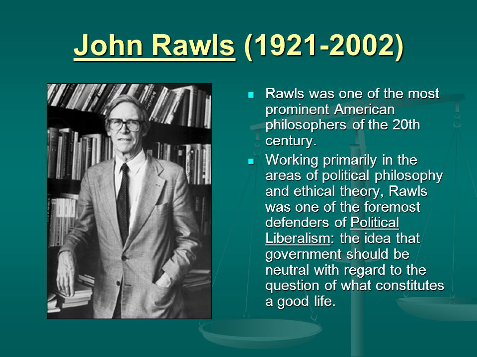 Entitlement Theory Given his starting point, it should not be surprising that Nozick has a much different account of J d than Rawls.