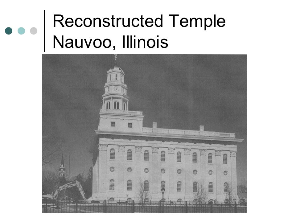 Reconstructed Temple Nauvoo, Illinois
