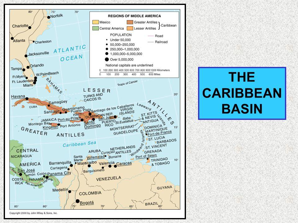 THE CARIBBEAN BASIN