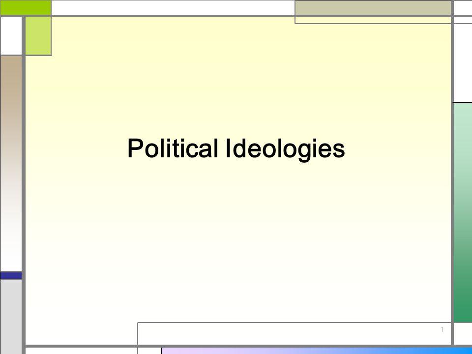 1 Political Ideologies