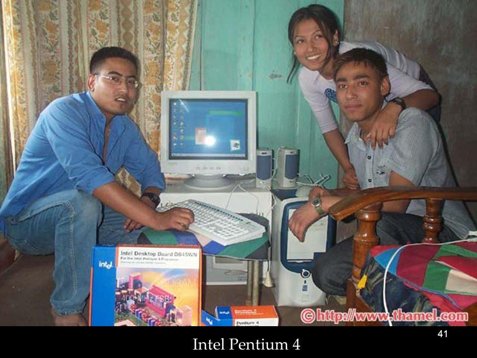 41 Intel Pentium 4