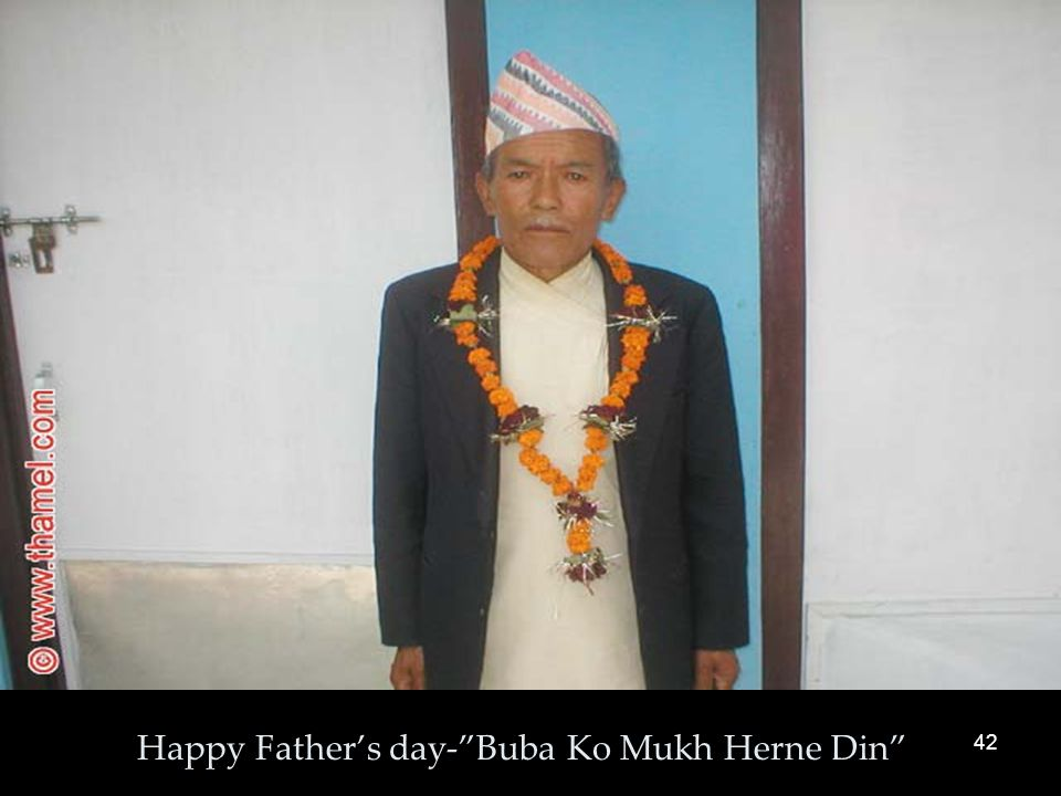 42 Happy Father's day- Buba Ko Mukh Herne Din