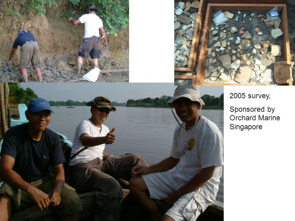2005 survey, Sponsored by Orchard Marine Singapore