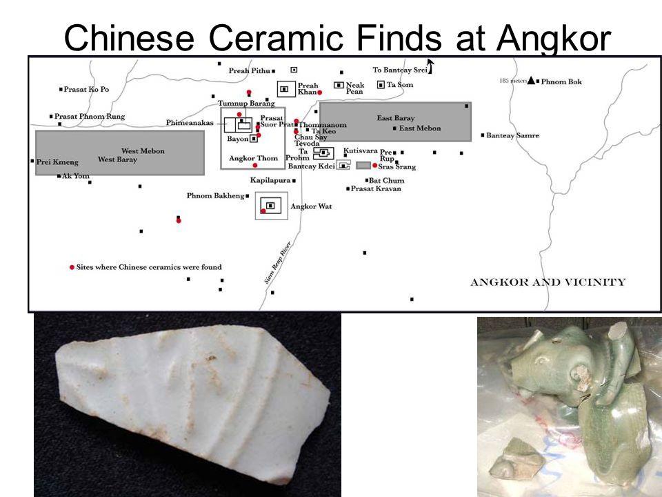 Chinese Ceramic Finds at Angkor