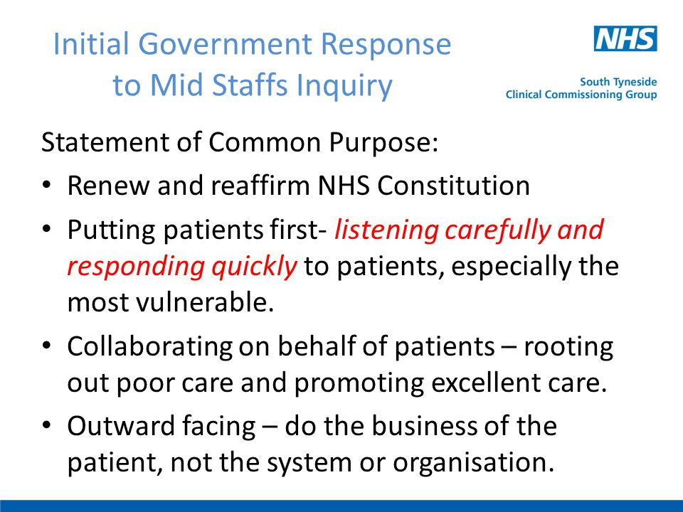 Continued Reduced bureaucracy- freeing up time to care and to lead.