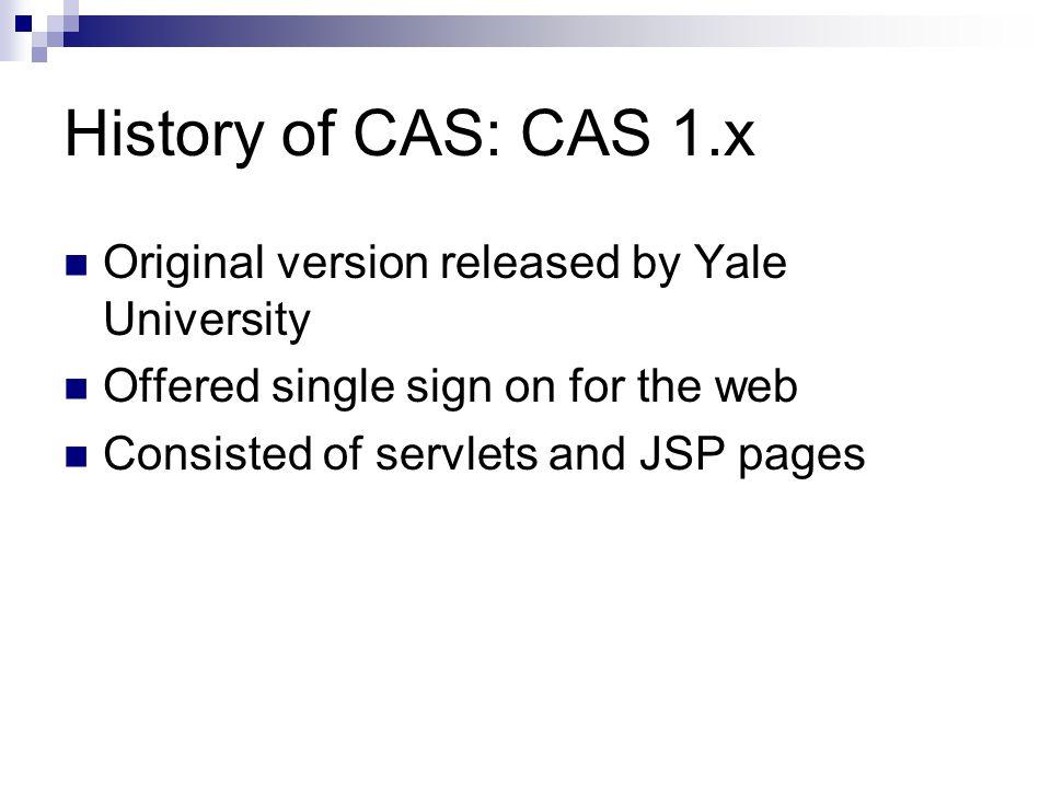 Advanced CAS 3 Usage