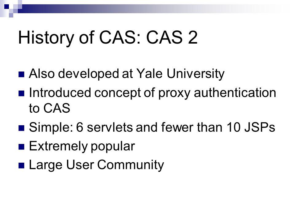 Introducing CAS 3.0