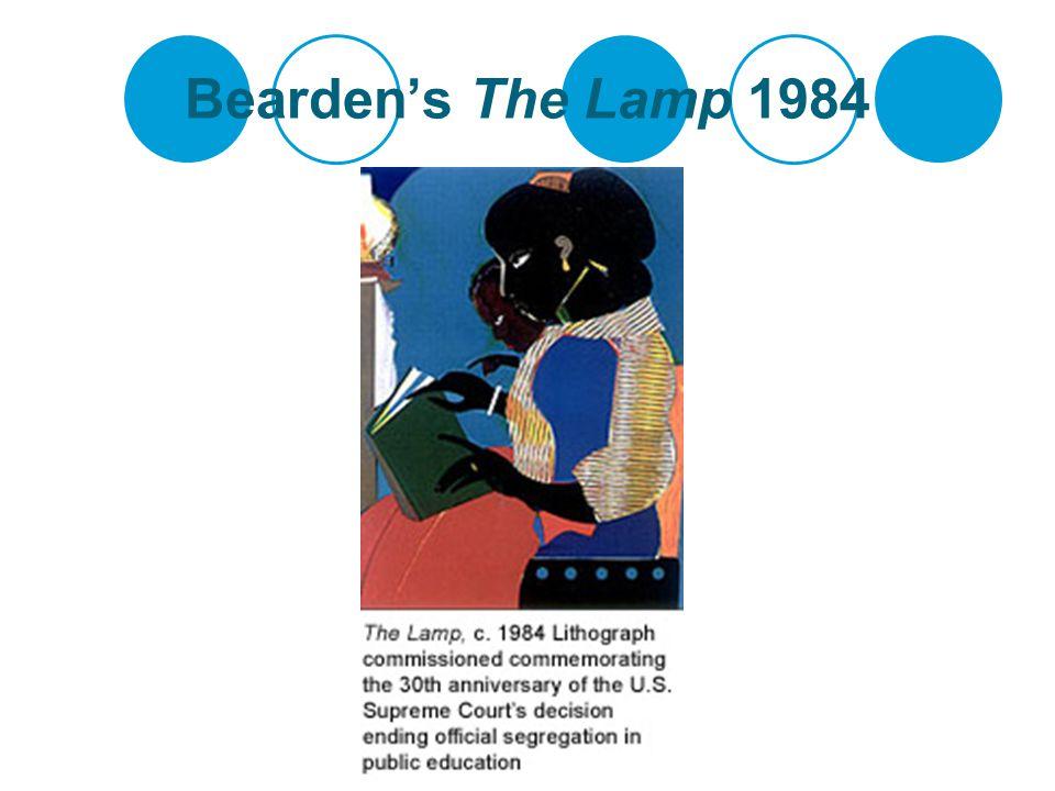 Bearden's The Return of Odysseus (Homage to Pintoricchio and Benin) 1977)